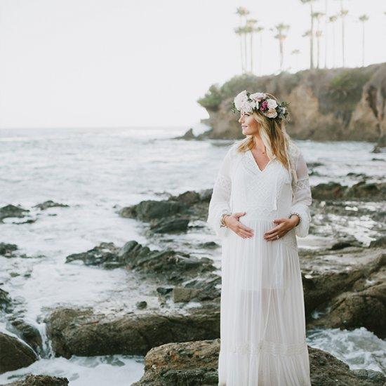 Beach Boho Maternity Style Stylegawker