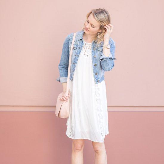 10 White Dresses For Spring