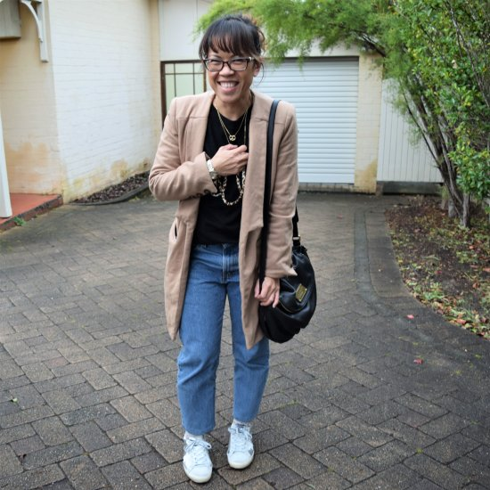 silver sneakers outfit | stylegawker